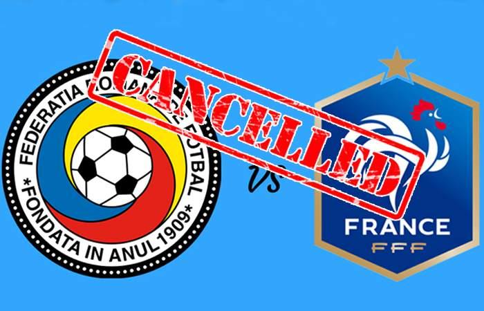 Meciul cu Franța, anulat! Jucătorii noștri și-au făcut deja selfie-uri la Euro și s-au întors acasă
