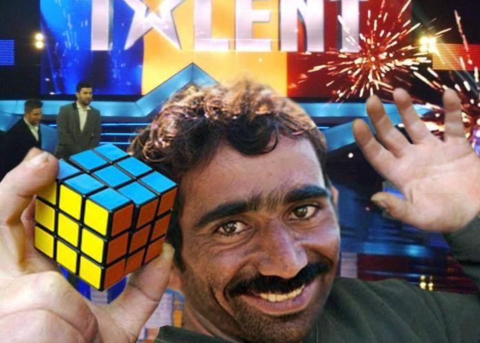 Românii au talent! Un ţigan a uimit juriul furând un cub Rubik în doar două secunde