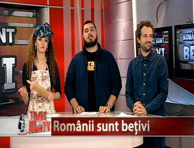 """VIDEO! Times New Roman TV, Episodul 2 – Talent show-ul """"Românii sunt bețivi!"""""""