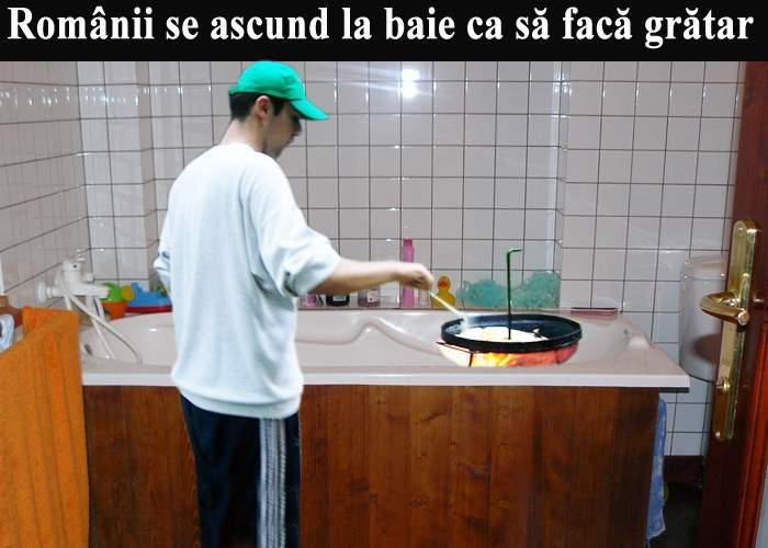 Din cauza noii legi a picnicului, românii au ajuns să facă grătare pe ascuns, la baie