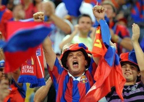 După ce Steaua a bătut Dinamo, milioane de români şi-au amintit că sunt stelişti de mici