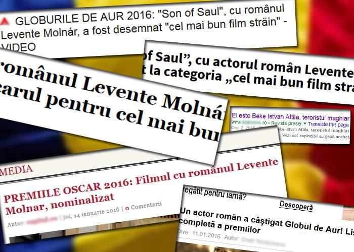 20 de lucruri despre cât de român e Levente Molnár, clujeanul nominalizat la Oscar