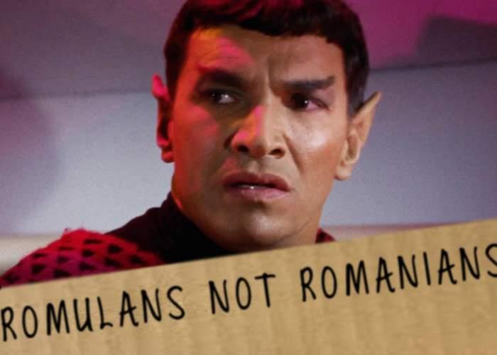 E oficial! Creatorii Star Trek schimbă numele romulanilor, ca să nu mai fie confundaţi cu românii