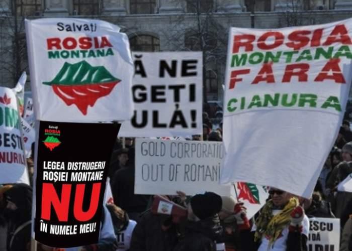 Zece lucruri despre protestele împotriva exploatării de la Roşia Montană