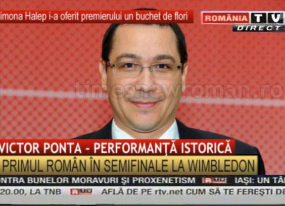 România a ieșit din prim planul tenisului, după ce Ponta a renunțat la titlul de numărul 3 WTA