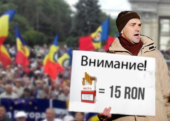 Adio! Moldovenii renunţă la Unire după ce au aflat cât costă ţigările şi băutura în România