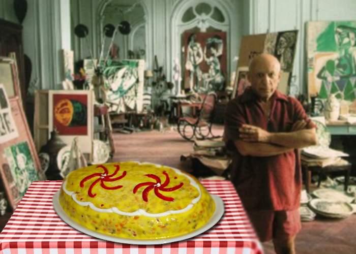 Operele pierdute ale lui Picasso! A decorat sute de salate de boeuf, dar toate s-au mâncat