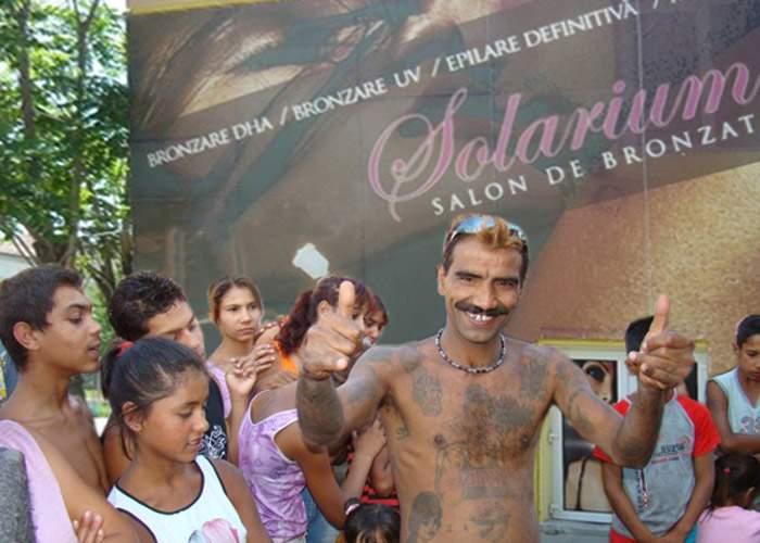Un afacerist neinspirat a deschis un salon de bronzat în Ferentari