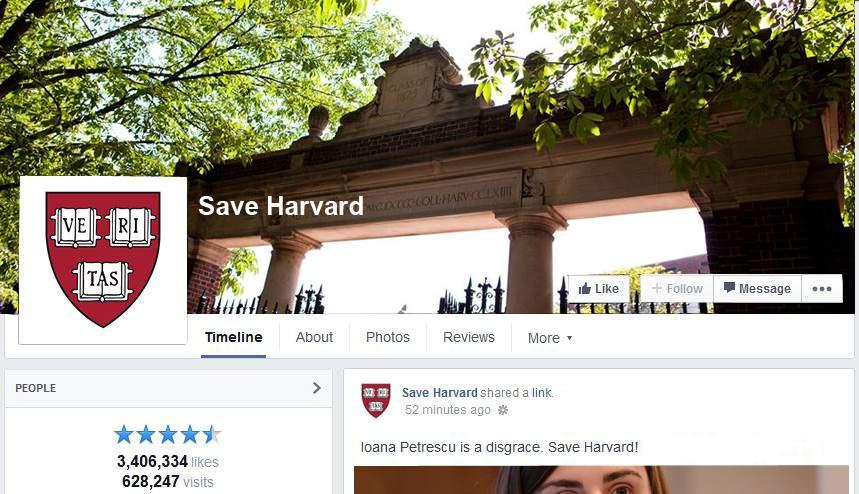 """Harvardul, ca Vama Veche! Americanii spun că nu mai e ce-a fost și au lansat campania """"Save Harvard"""""""