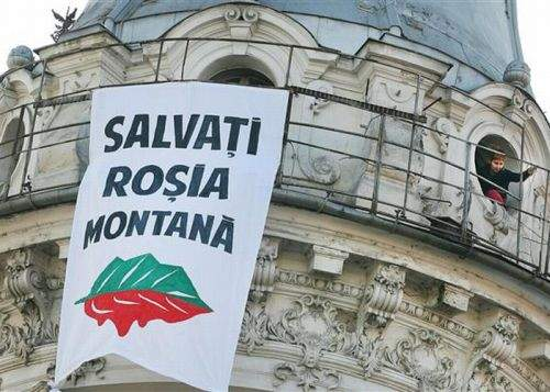 """""""Salvaţi Roşia Montană"""" va otrăvi apa potabilă cu cianuri pentru a da un semnal pozitiv"""