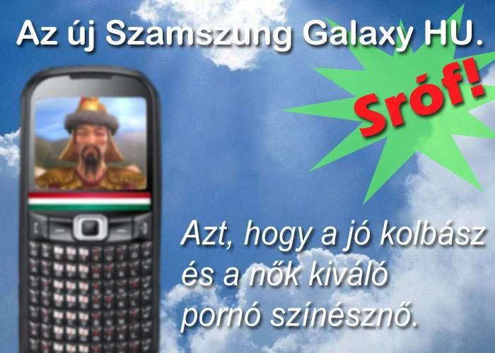 Samsung, lideri de piaţă în Ungaria! Au lansat primul smartphone cu tastatură QWÉÓÖÜRTSz