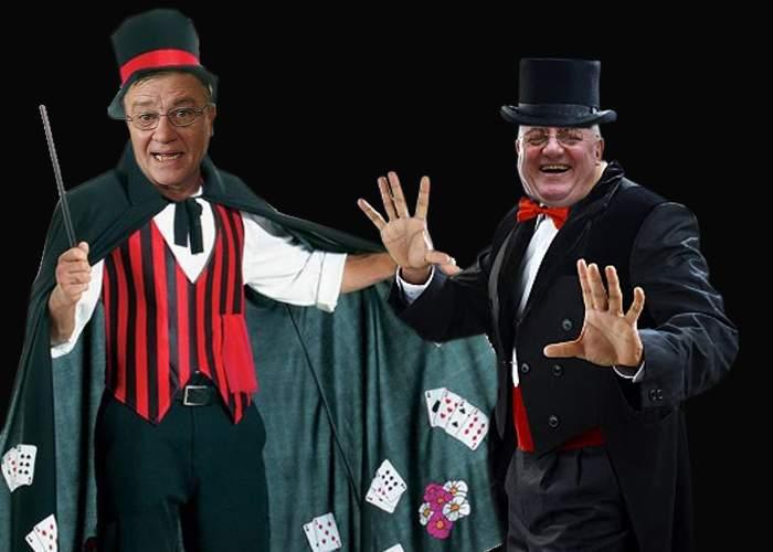 Sandu şi Dragomir, vedetele unui număr de magie prin care fac ca echipele de tradiţie să dispară