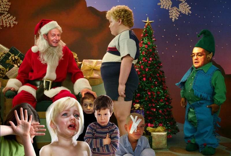 Există Moş Crăciun şi pentru copiii care nu mănîncă tot