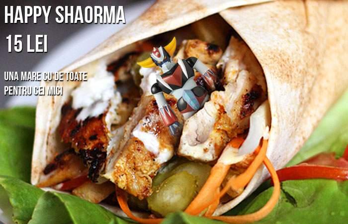 Happy Meal de Bucureşti! Dristor Kebab lansează şaorma pentru copii, cu jucărie înăuntru