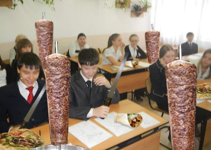 Reformă! La ora de Atelier, băieții vor învăța să taie carnea, iar fetele să ruleze lipia de șaorma