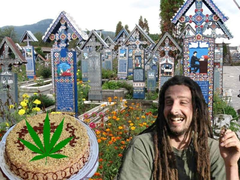 """Cimitirul Vesel de la Săpânţa, acum şi mai vesel: """"Punem marijuana în colivă!"""""""