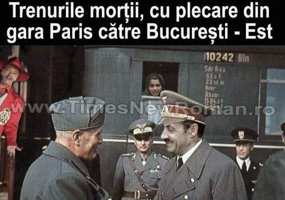 Sarkozy are de gând să invadeze Polonia