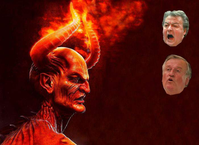 """Satana vine pe Pământ! """"Dacă rămân în iad, și cu Vadim, și cu Lorin Fortuna pe cap, o iau razna"""""""