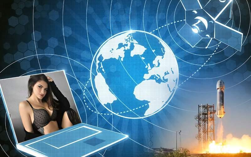 Primul satelit de videochat din lume, lansat azi de la Pornodromul din Galaţi