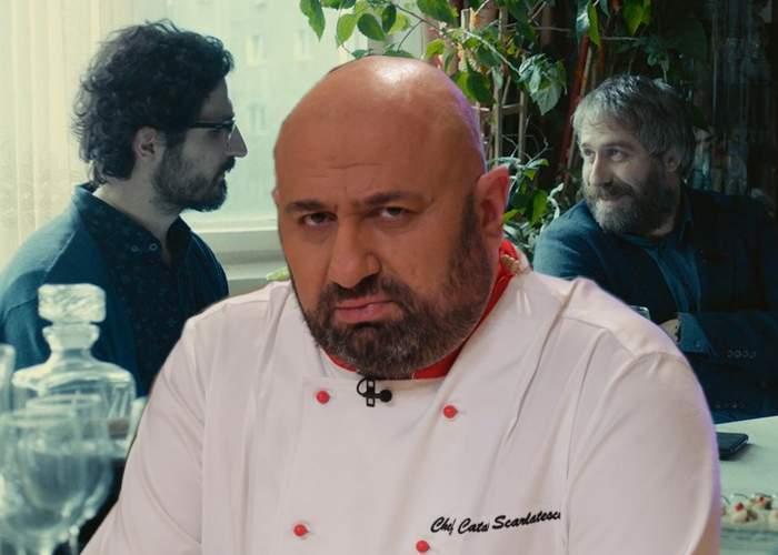 """Chef Scărlătescu dă de pământ cu Sieranevada. """"Oribil, mi s-a întors stomacul pe dos!"""""""