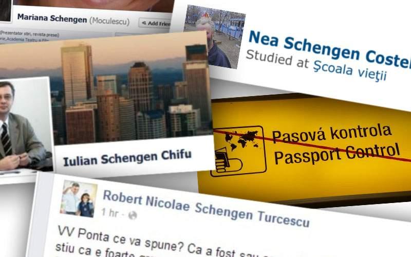 E oficial! Vor intra în Schengen doar cei care şi-au pus atunci numele Schengen pe FB
