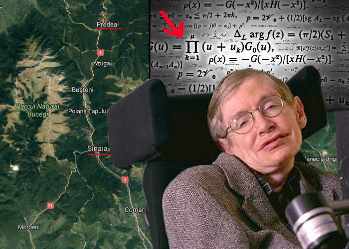 Stephen Hawking uimeşte iar lumea fizicii: Matematic, există o scurtătură între Predeal şi Sinaia