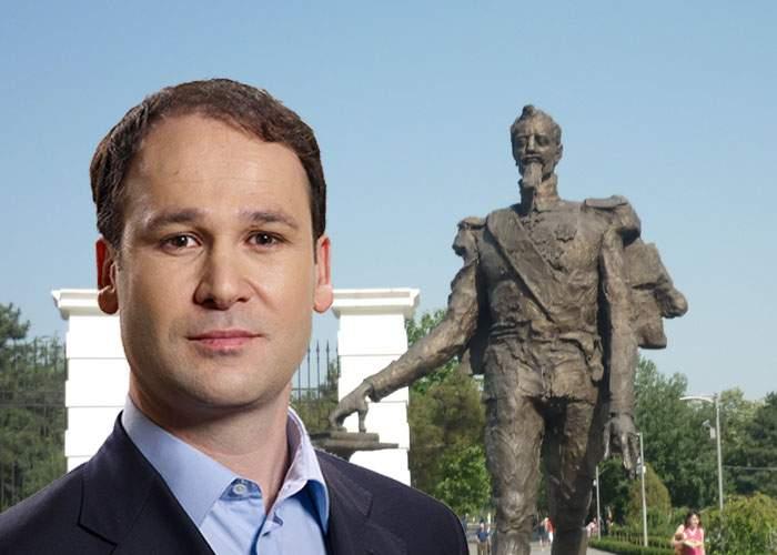 Secretele lui Negoiţă! Statuia lui Cuza din Titan e de fapt un pensionar care a fost betonat din greşeală