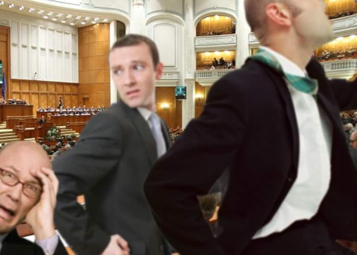 """Şedinţa solemnă de la Parlament, ruinată de o glumă proastă: cineva a strigat """"Şase, Kövesi!"""""""