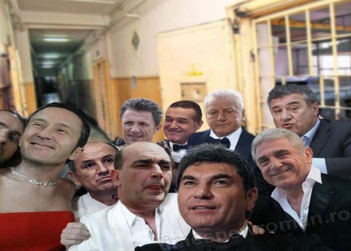 Foto! Condamnaţii în Dosarul Transferurilor, primul selfie de la Jilava
