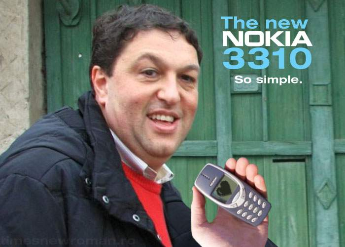 Nokia 3310 revine pe piaţă special pentru Şerban Nicolae, care nu are IQ-ul necesar să înţeleagă alte telefoane