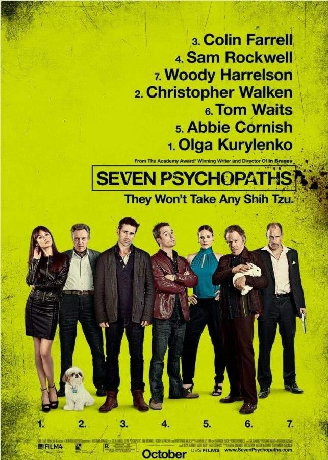 Seven Psychopaths – Crima după crimă e de multă stimă