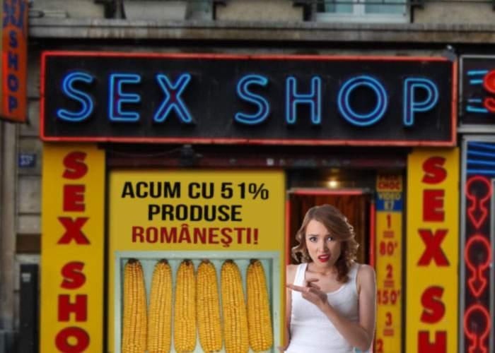 """Patron de sex shop, îngrijorat de legea produselor româneşti: """"Mă obligă să vând coceni de porumb"""""""