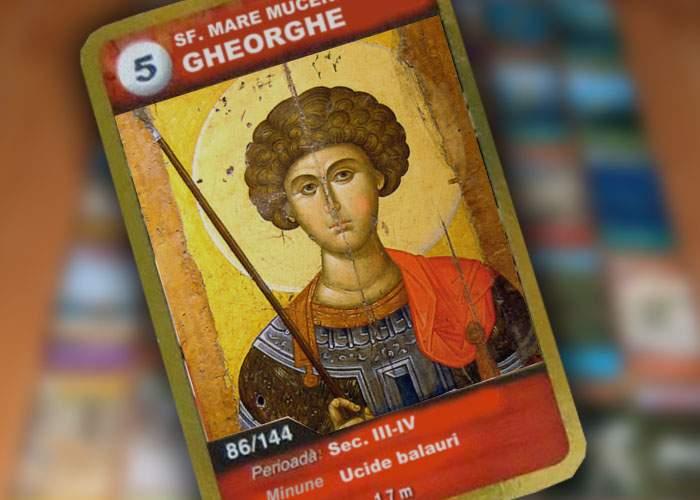 După succesul dinozaurilor de la Mega Image, bisericile ar putea oferi şi ele cartonaşe cu sfinţi