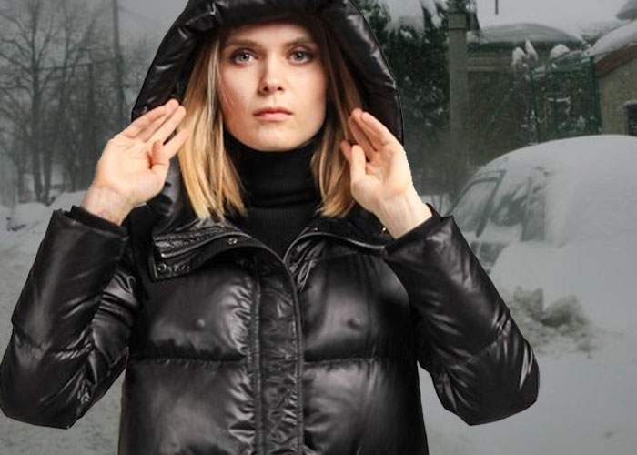 Dramatic! Din cauza frigului de afară, sfârcurile s-au întărit atât de mult că ies prin paltoane