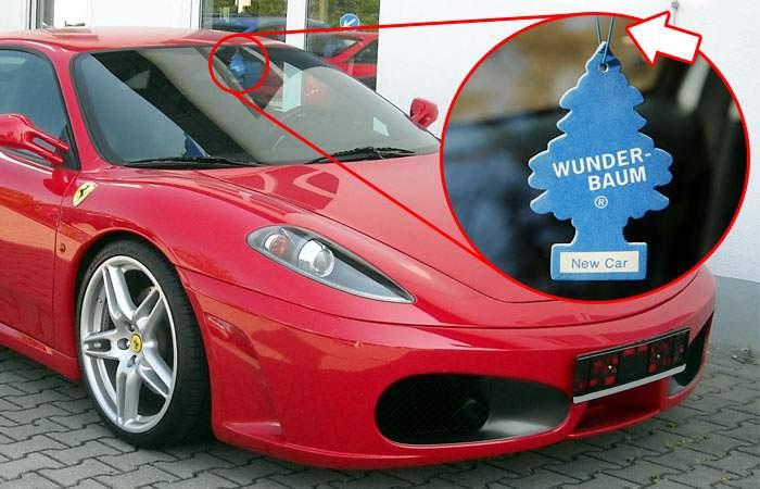 Ferrari făcut cu piese din România! Sfoara de la brăduțul odorizant e produsă la Odorhei