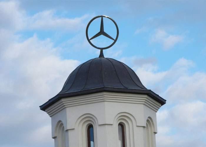 """BOR bate palma cu Mercedes-Benz: """"Ei ne dau limuzine, noi le punem sigla în vârful Catedralei"""""""