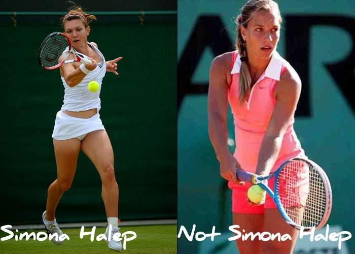 BRD Open: mai mulţi români au răguşit încurajând o rusoaică care semăna cu Simona Halep