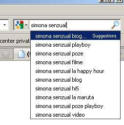 Biografia Simonei Senzual, un fel de Zoografie