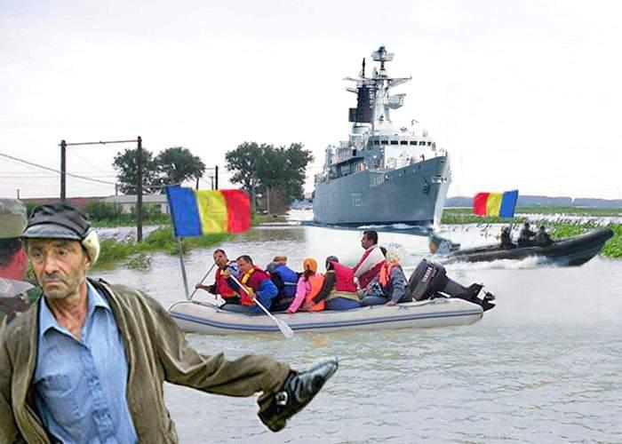 Sinistrații din Moldova sărbătoresc astăzi Ziua Marinei Române