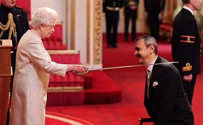 Foto! Liviu Dragnea, înnobilat de Regina Angliei pentru contribuţia decisivă la referendum