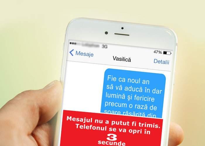 Primul telefon 100% inteligent! Când vrei să dai un SMS jenant de Revelion, se stinge singur