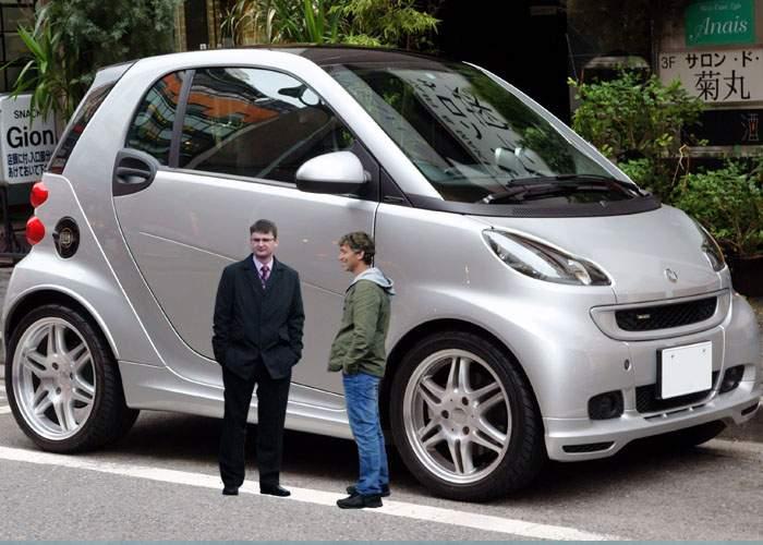 Smart lansează un model pentru piaţa americană: 6 locuri, motor de 8000 cmc, consum 25l/100km
