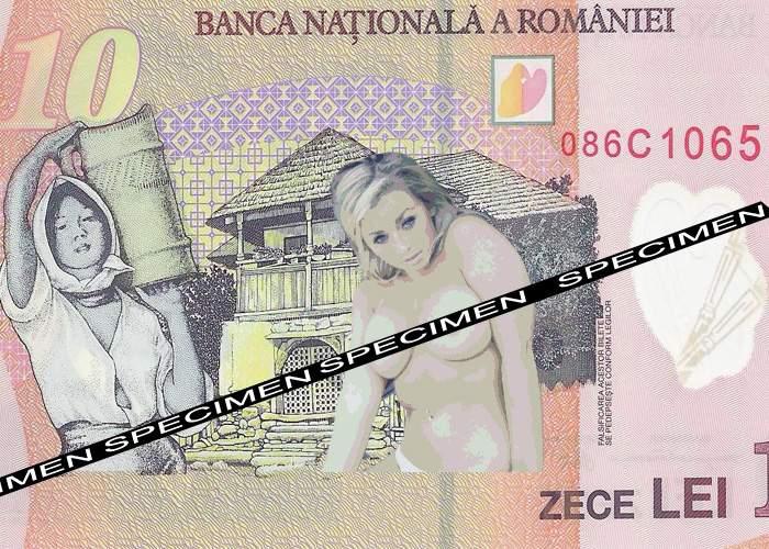 Pentru a încuraja românii să facă economii, bancnotele vor avea poze cu femei goale