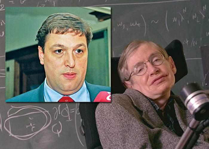 Stephen Hawking spune că Universul trebuie să fie infinit, altfel n-ar încăpea în el prostia lui Şerban Nicolae