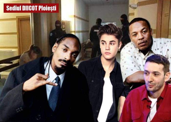 Cheloo a cedat şi i-a turnat la DIICOT pe Snoop Dogg, Dr. Dre, Justin Bieber şi pe Sişu