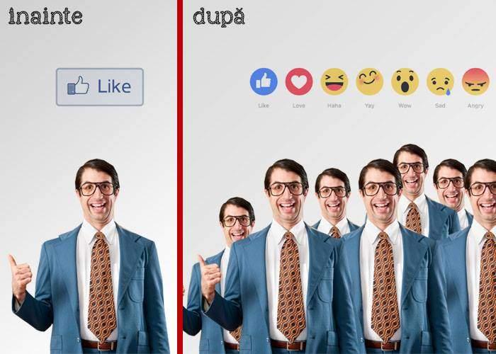 Pentru că sunt 6 butoane de reacții, acum vor fi de 6 ori mai mulți specialiști social media