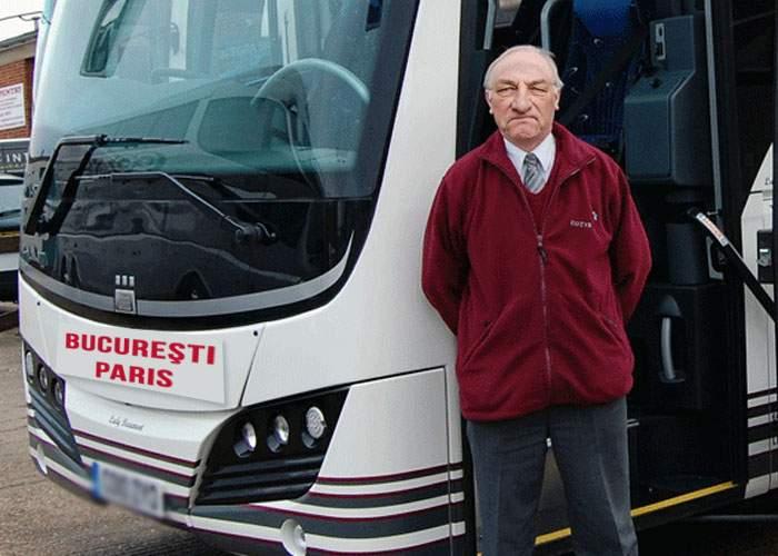 Ponta e un amator! Şoferul autocarului Bucureşti-Paris a mărit deja de 5 ori leafa a mii de medici