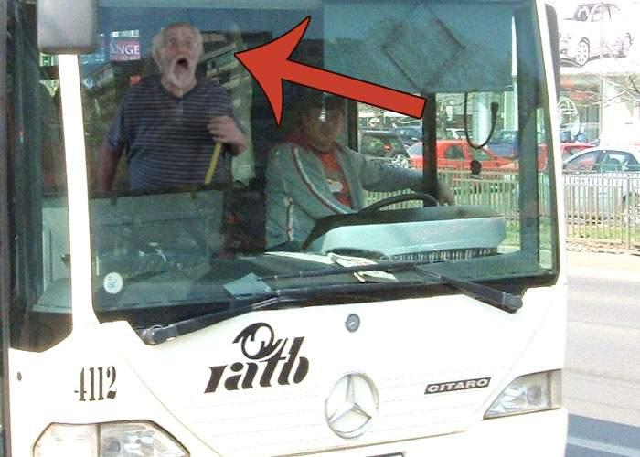 Şofer RATB, înjurat vehement de un pensionar căruia a refuzat să-i cedeze locul în autobuz