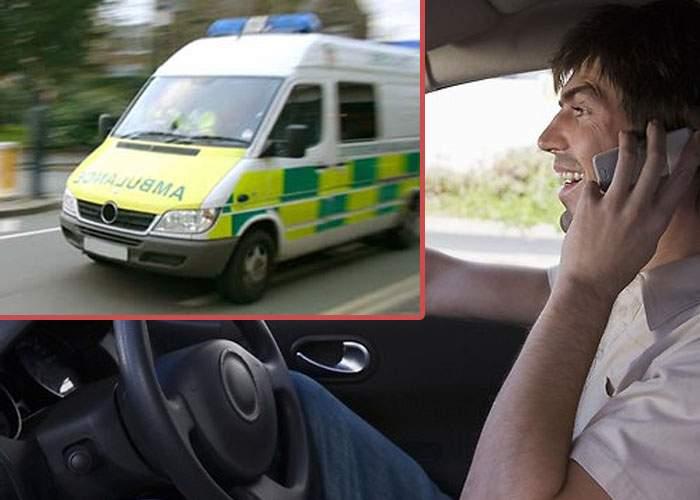 Studiu: Șoferii de ambulanță pornesc sirena mai ales când îi sună nevasta