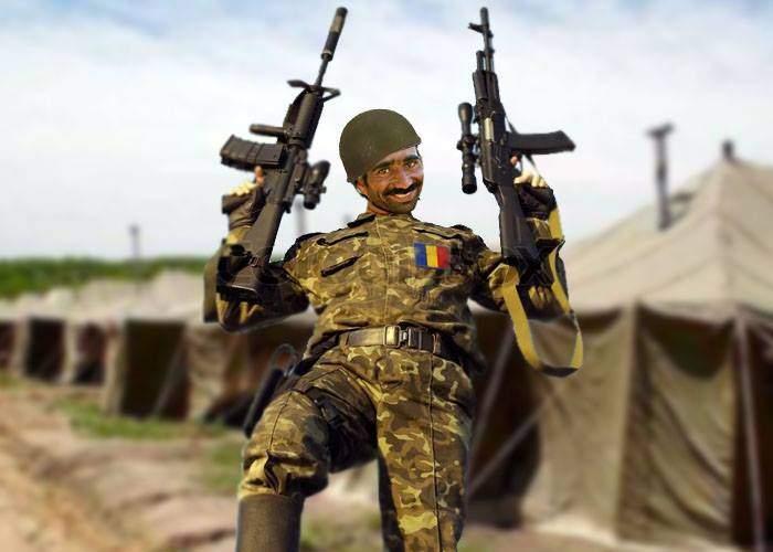 Exercițiu militar româno-american! Dimineața, românii aveau câte două arme, americanii, niciuna